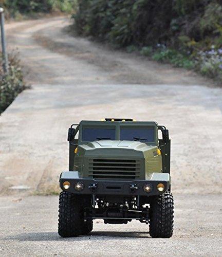 Cross-RC KC6L 6WD 1/12 Military Truck Kit - Aluminum Beadlocks - Import It  All