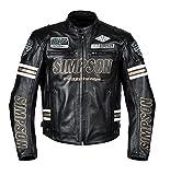 シンプソン(SIMPSON) レザージャケット BLACK/GOLD L SLJ-5111