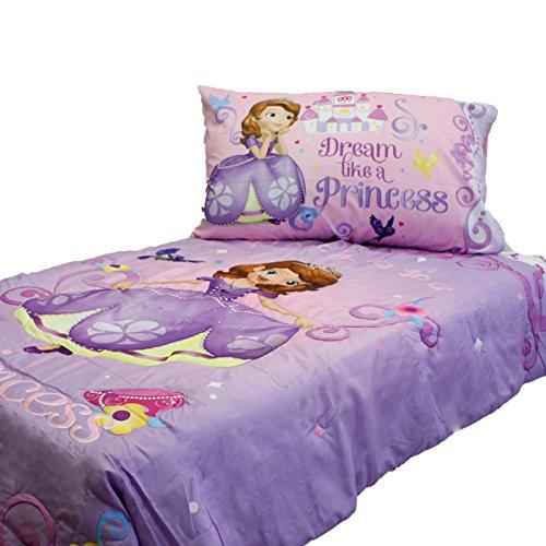 Disney Jr. Princess Sofia the First 4 Piece Toddler Bedding Set