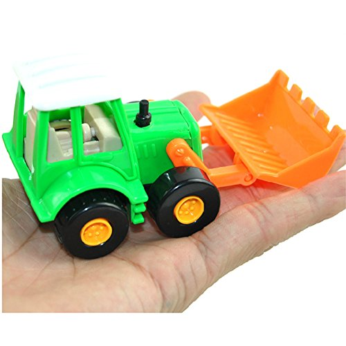 Fajiabao Push Pull Back Truck Car Toy Set Mini