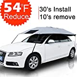 YEEGE Car Sun Shade Covers Umbrella Travel Accessories Universal Fit UV Protection Outdoor