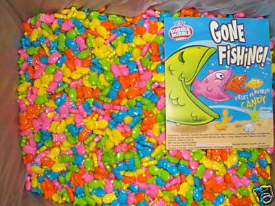 8 Pounds Gone Fishing Fruit Flavored Candy (Gone Fishing Candy compare prices)