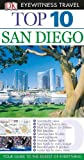Top 10 San Diego [With Map] (DK Eyewitness Top 10 Travel Guides)
