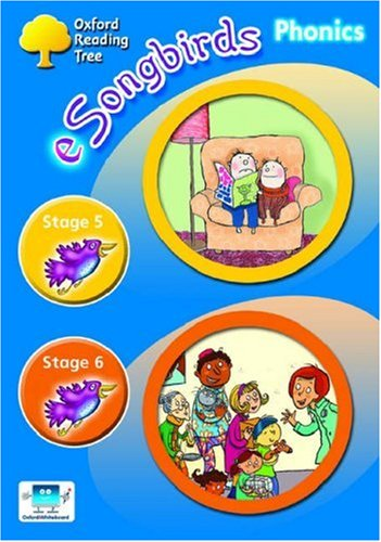 Oxford Reading Tree: Stages 5-6: e-Songbirds Phonics: CD-ROM Single-User Licence