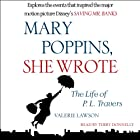 Mary Poppins, She Wrote: The Life of P. L. Travers Hörbuch von Valerie Lawson Gesprochen von: Terry Donnelly