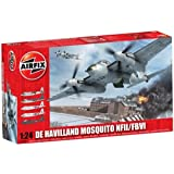 Airfix A25001 De Havilland Mosquito 1:24 Scale Series 25 Plastic Model Kitby Airfix Military Aircraft