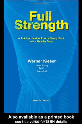 Full Strength: A Training Handbook for a Strong Back and a Healthy Body PDF