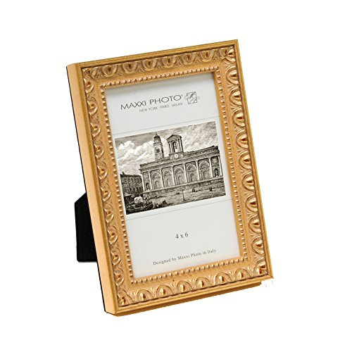 maxxi-designs-photo-frame-with-easel-back-5-x-7-antique-gold-leaf-casa-bella