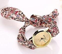 Zeen - New brand luxury Fabricc ScarrffStyle Analog Quartz Bracelet Dress Wrist Watch + with extra cell