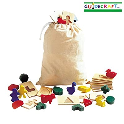 3D Feel & Find By GuideCraft 40 piece set