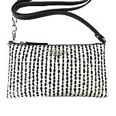 Fiorelli Dakota Crossbody Handbag Black and White