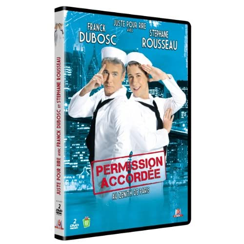 [FS] [DVDRiP] Franck Dubosc et St�phane Rousseau - Permission accord�e