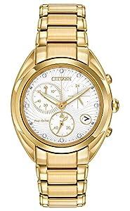Citizen Women's FB1392-58A Celestial Analog Display Japanese Quartz Gold Watch