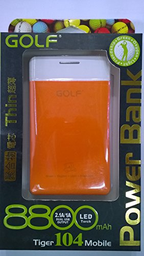 GOLF 8800mAh Thin Power Bank