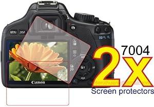 2x Clear LCD Screen Protector Cover Guard Film for Canon EOS REBEL 550D T2i Digital Camera Premium