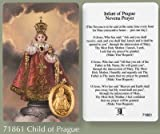 Infant of Prague Novena Prayer Card