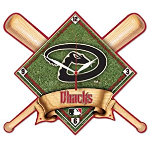 MLB Arizona Diamondbacks High Definition Clock by WinCraft