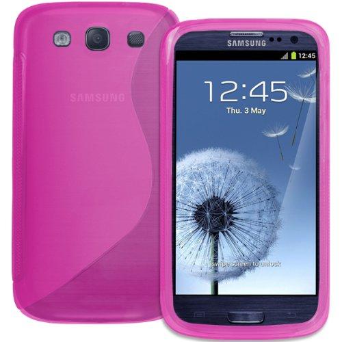 Xylo Displayschutzfolie, Galaxy S3 S 3 III i9300, Pink S-Curve, Stück: 1