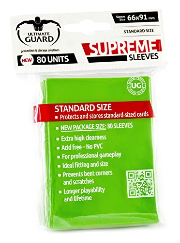 Supreme Light Green Sleeves (80)