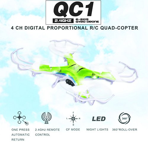 Best-Quadcopter-Drones-for-Sale-with-Camera-LED-Lights-Green-Drone-BONUS-BATTERY-2X-FlightTime