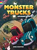img - for Monster Trucks Coloring Book book / textbook / text book