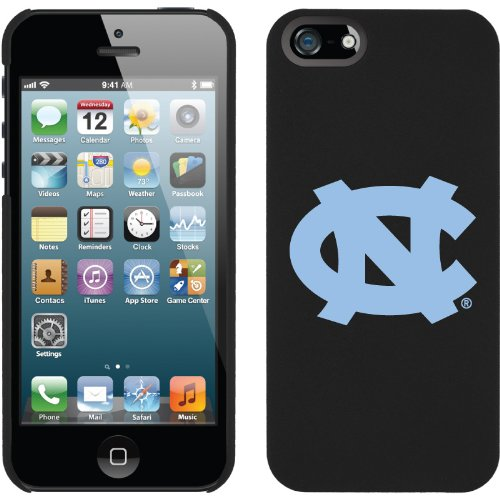 Best Price North Carolina Logo design on iPhone 5 Thinshield Snap-On Case by Coveroo