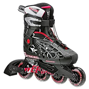 Roller Derby Web Stinger Adjustable Boy's Inline Skates, Small (12-1)
