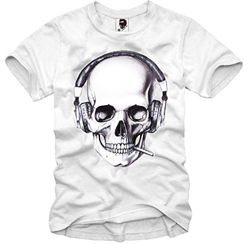 E1SYNDICATE T-SHIRT DJ SKULL LONDON BOY HYPE ELEVEN SUPREME PYREX TRILL S-XL