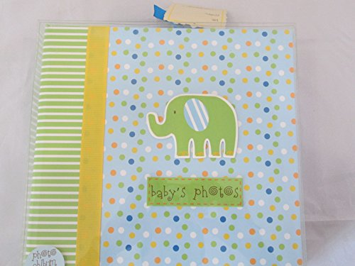 Baby Essentials Baby Photos Dots and Elephant - 1
