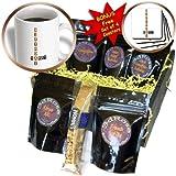 cgb_49872_1 Patricia Sanders Creations - Happy Birthday - Scrabble Style - Fun Word Art - Coffee Gift Baskets - Coffee Gift Basket