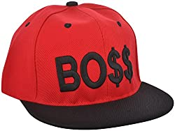 ICE DRAGON Unisex Synthetic Cap (Red)