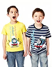 2 Pack Cotton Rich Thomas & Friends© T-Shirt