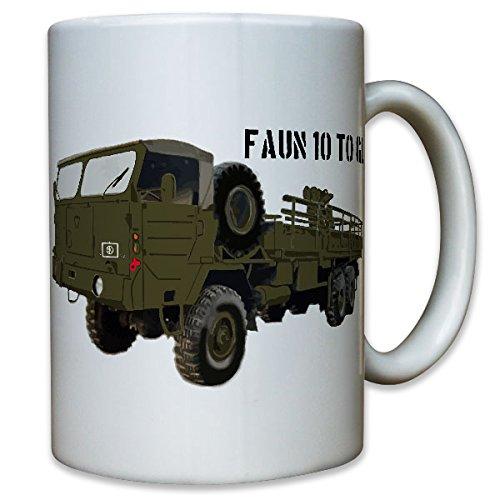 10TO GL armardi Faun camion BW vita antica militare veicolo - tazza da caffè #8916