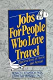 Jobs for People Love Trave
