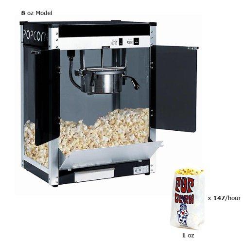 Paragon CP-8 Contempo Pop Popper 8-Ounce Popcorn Machine (Heating Element Popcorn Machine compare prices)