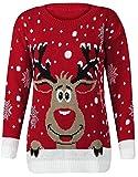 Fast Fashion Frauen Pullover Langarm Stern Twin Rudolph Und Erdmännchen Neuheit Weihnachts