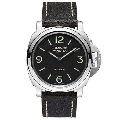 panerai-mens-pam00560-luminor-stainless-steel-mechanical-hand-wind-watch-with-interchangeable-bands