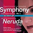 Symphony No.1/ Neruda Songs (Lieberson) (ASO Media: ASO1002)