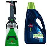 Pet Stain Remover Bundle - Big Green + Bissell 2X Pet Stain Odor Full Size Machine Formula, 60 oz