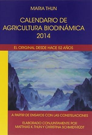 Portada del calendario biodinámico 2014
