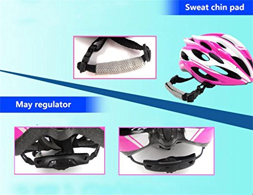 Rainbow flower Children skating helmets adjustable skate skateboard bicycle safety hat adult Cycling Equipment