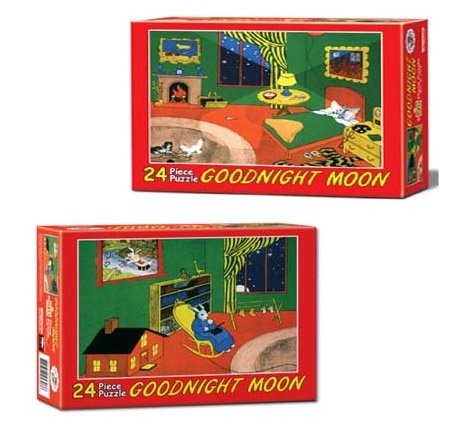 Cheap Fun Goodnight Moon Floor Puzzle Assortment of Two by Briarpatch (BP05200) (B002D3EG48)