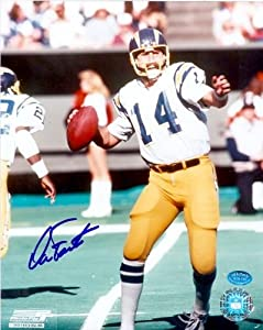 Dan Fouts Autographed Hand Signed 8x10 Photo (San Diego Chargers) Image #3 by Hall of Fame Memorabilia