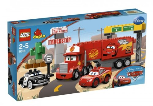 LEGO 5816 Duplo Cars Mack auf großer Fahrt
