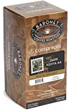 Baronet Coffee Dark Kenya AA Dark Roast, 18-Count Coffee Pods (Pack of 3)