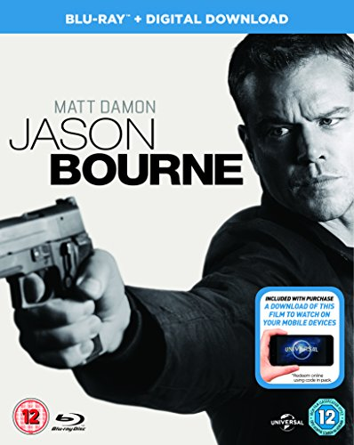 Jason Bourne (Blu-ray + Digital Download) [2016]