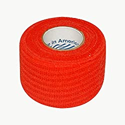 Jaybird and Mais 6000 Jayco Co-Adhesive Grip Tape: 1-1/2 in. x 15 ft. (Red)