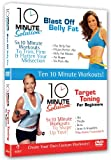 10 Minute Solution - Blast Off Belly Fat / Target Toning [DVD]