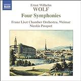 E.W. ヴォルフ:4つの交響曲集