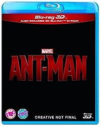 Ant Man [Blu-ray 3D + Blu-ray]